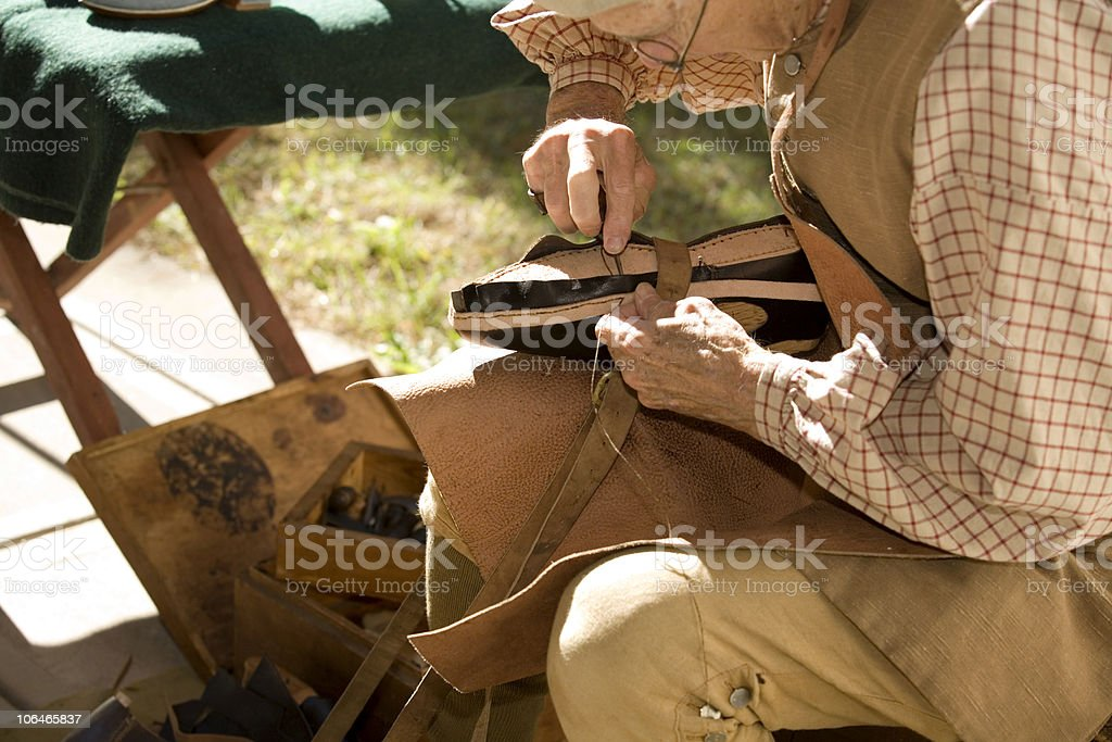 Colonial Cobbler royalty-free stock photo