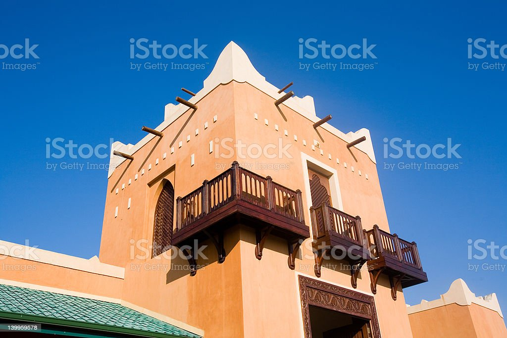 Colonial fort detail royalty-free stock photo