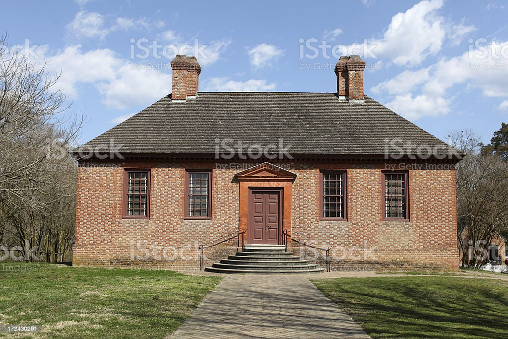 Colonial Home Series royalty-free stock photo