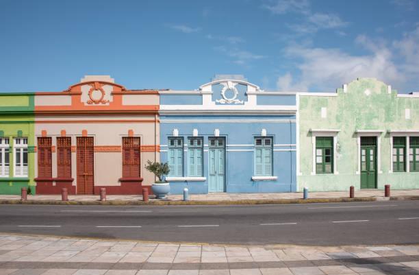 Häusern im Kolonialstil aus Olinda Stadt – Foto