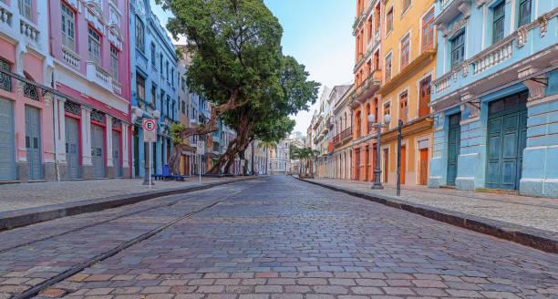 Kolonialhäuser in der Bom-Jesu-Straße – Foto