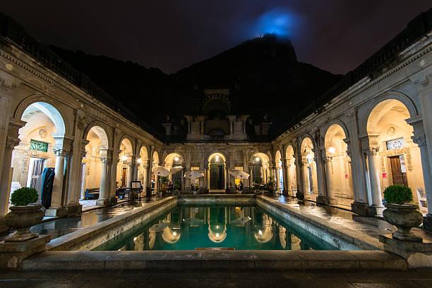 Colonial Italian Architecture in Rio de Janeiro stock photo