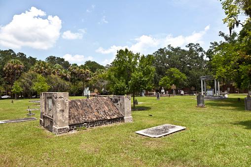 Colonial Park Cemetery in Savannah