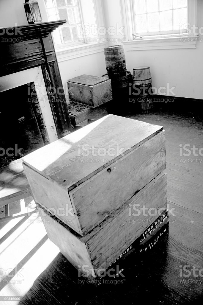 Colonial room royalty-free stock photo