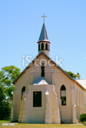 istock Colonial stone church Ormiston 90667895