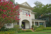 Colonial style house in Dallas