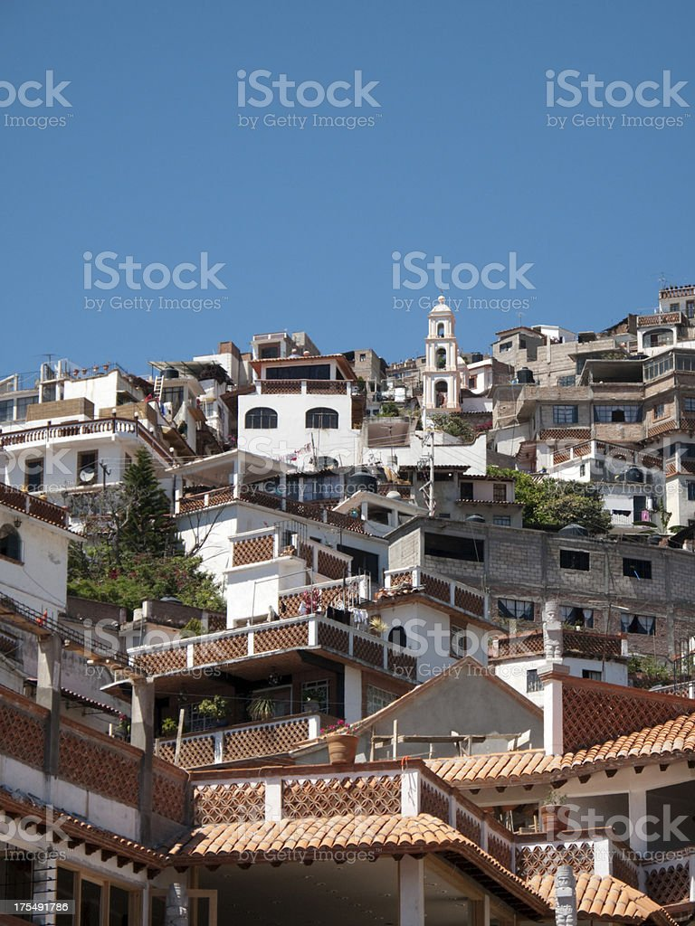 Colonial Taxco, Mexico royalty-free stock photo