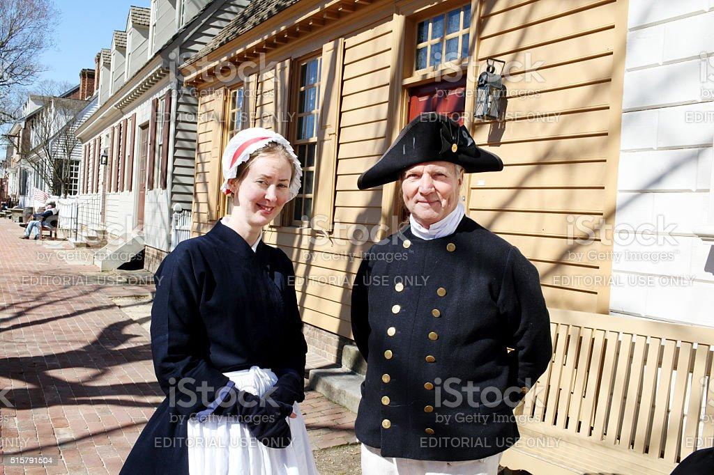 Colonial Times stock photo