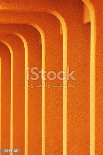 168248826 istock photo Colonnade Architecture Stucco Columns 155441082