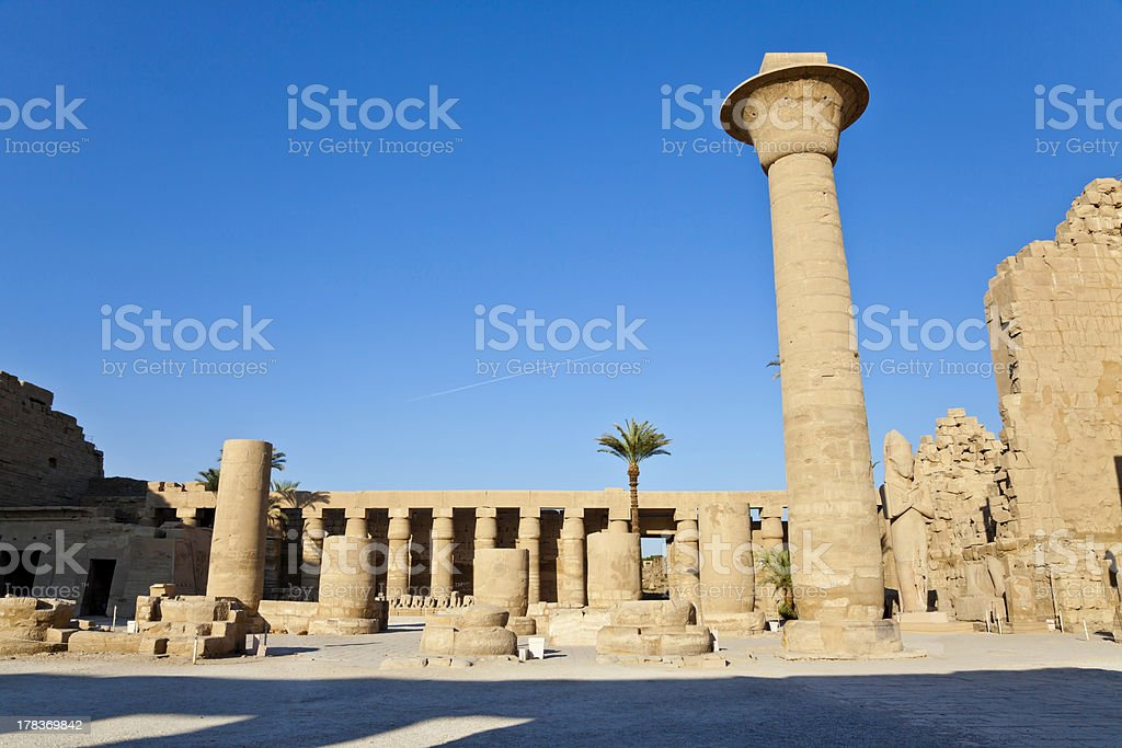colonnade of tahargo royalty-free stock photo
