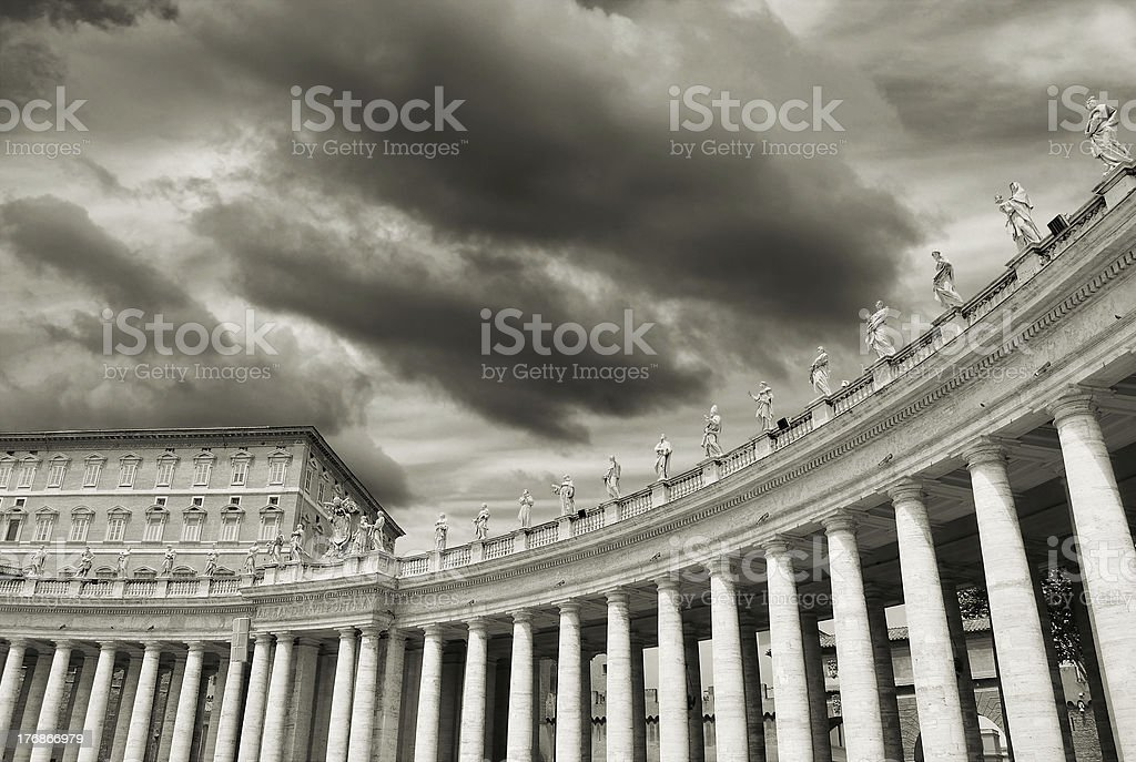 Colonnade. royalty-free stock photo
