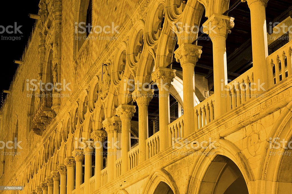 Colonnades royalty-free stock photo