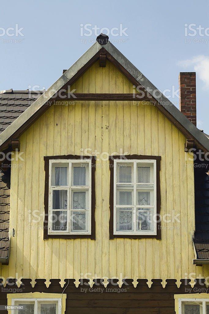 Colony house royalty-free stock photo