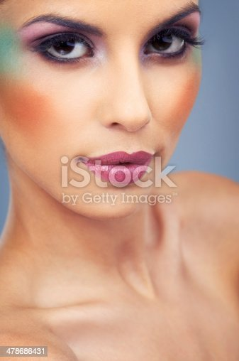 istock Color accentuates her already striking feautures 478686431