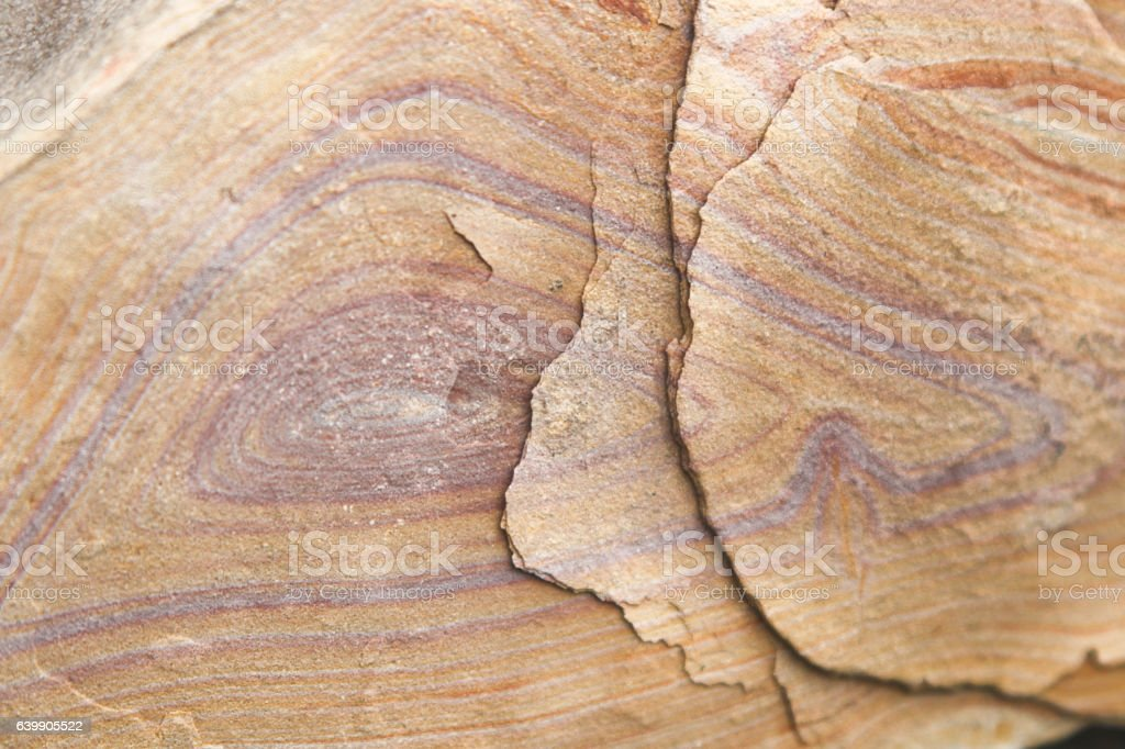 Color and texture of desert sandstone stock photo