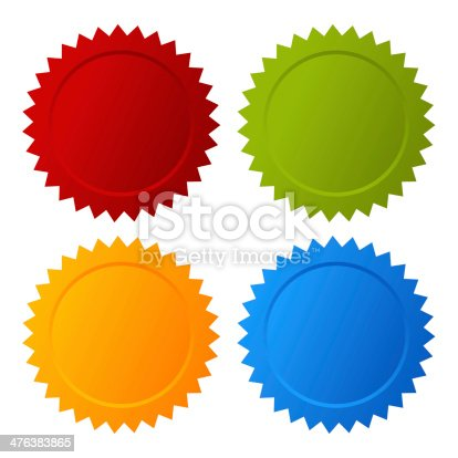 istock Color badges 476383865