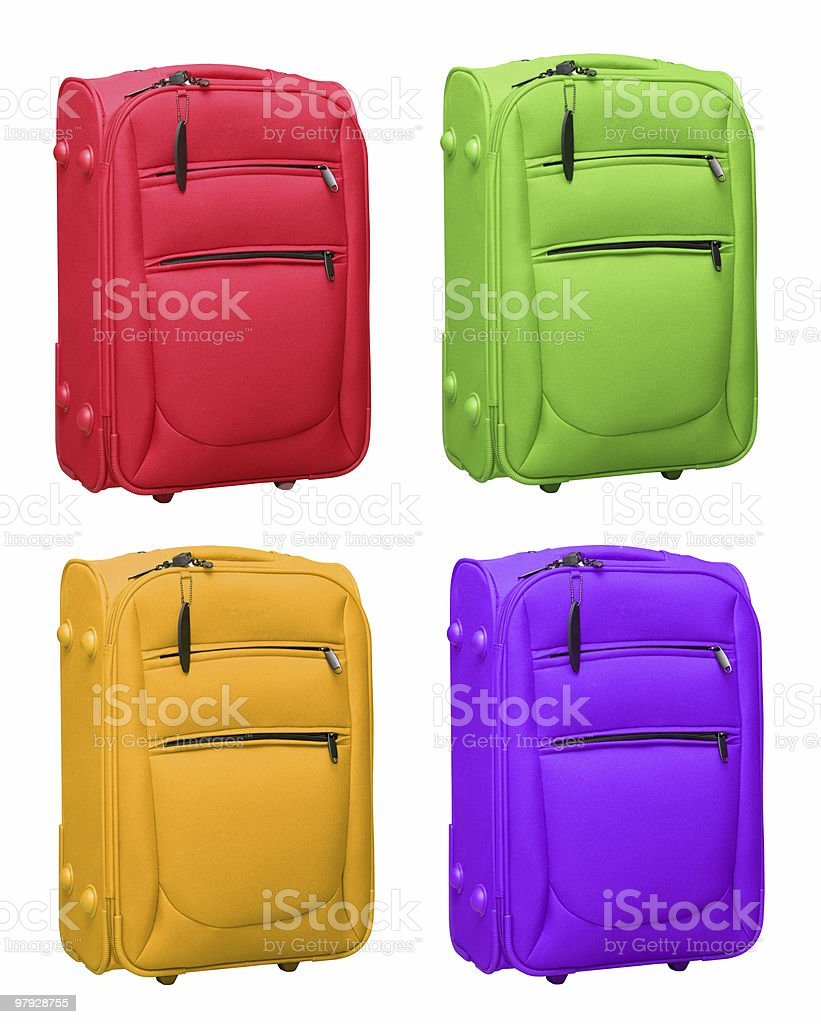 Color bag royalty-free stock photo