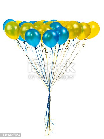 istock color balloons on a white 1124487654