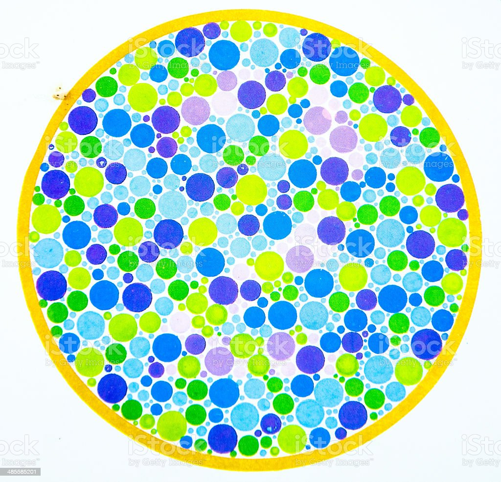 Color Blind Test 2 Stock Photo & More Pictures of Abstract   iStock