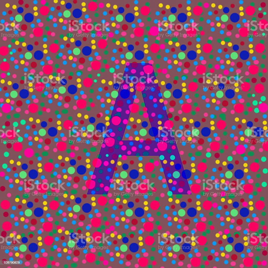 Color Blind Test A Stock Photo 526790829 Istock