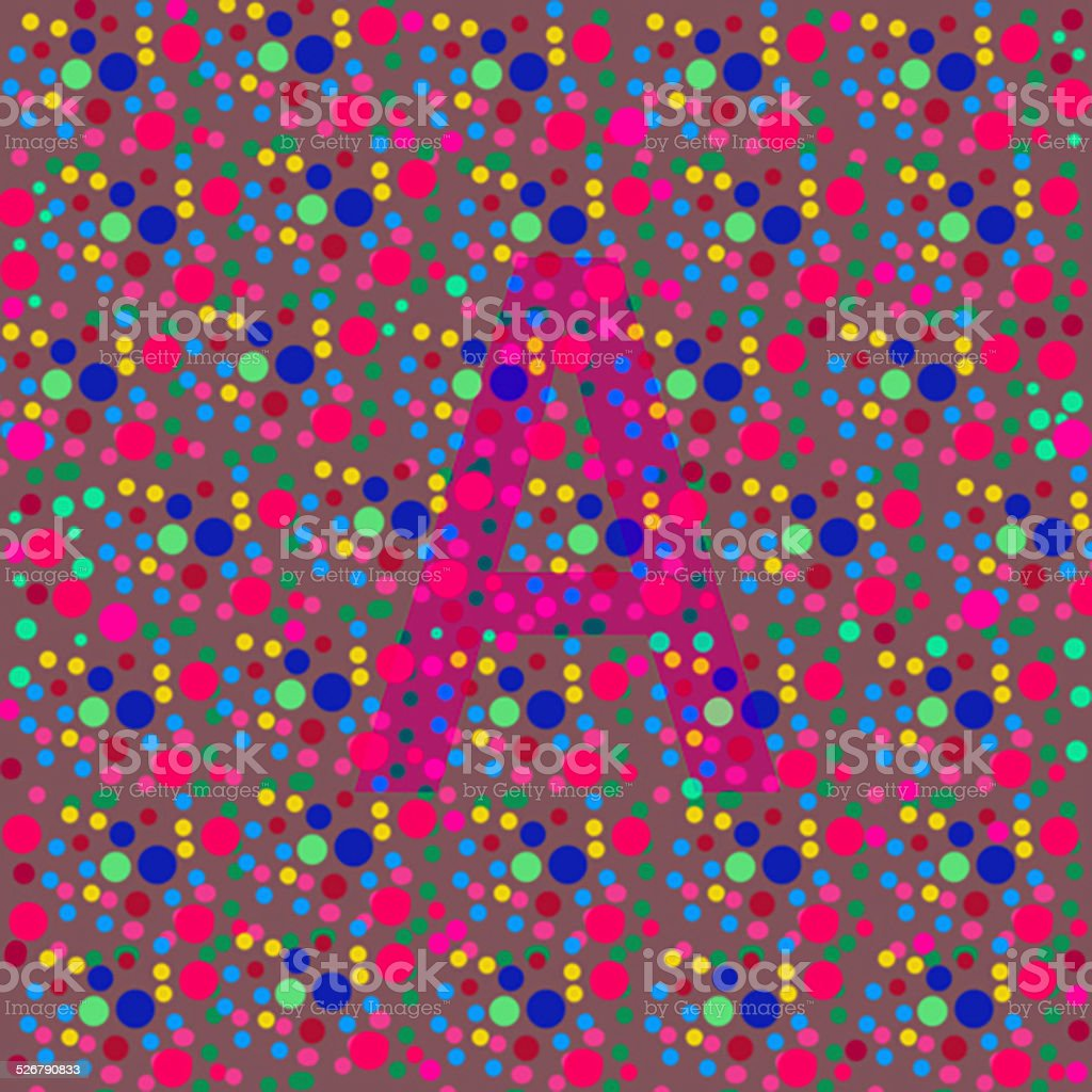 Color Blind Test A Stock Photo & More Pictures of Abstract | iStock