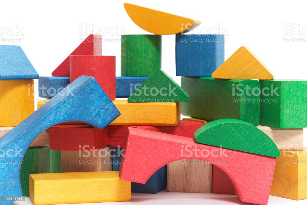 color blocks royalty-free stock photo