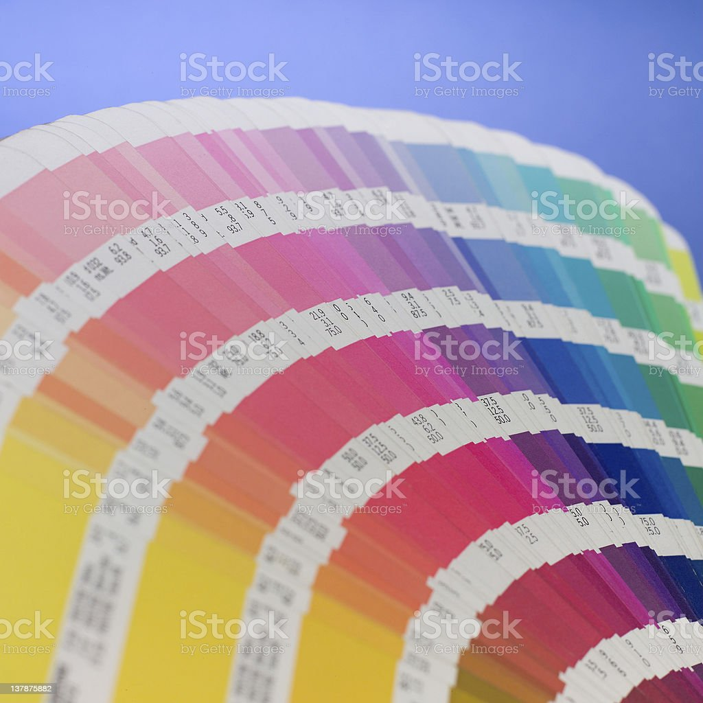 Color book stock photo