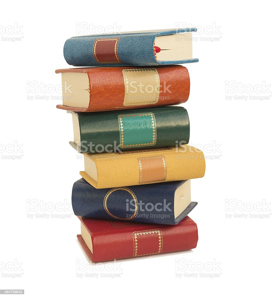 Color books . royalty-free stock photo