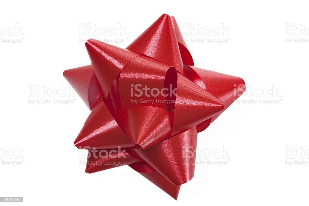 color bow gift royalty-free stock photo