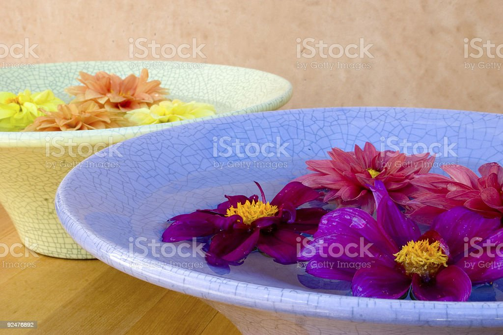 Color Bowls royalty-free stock photo