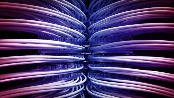 farbe kabel - metalldraht stock-fotos und bilder