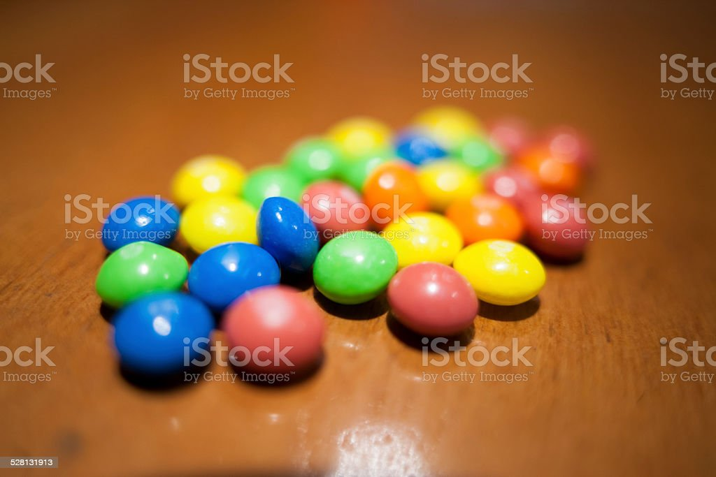 color candy stock photo