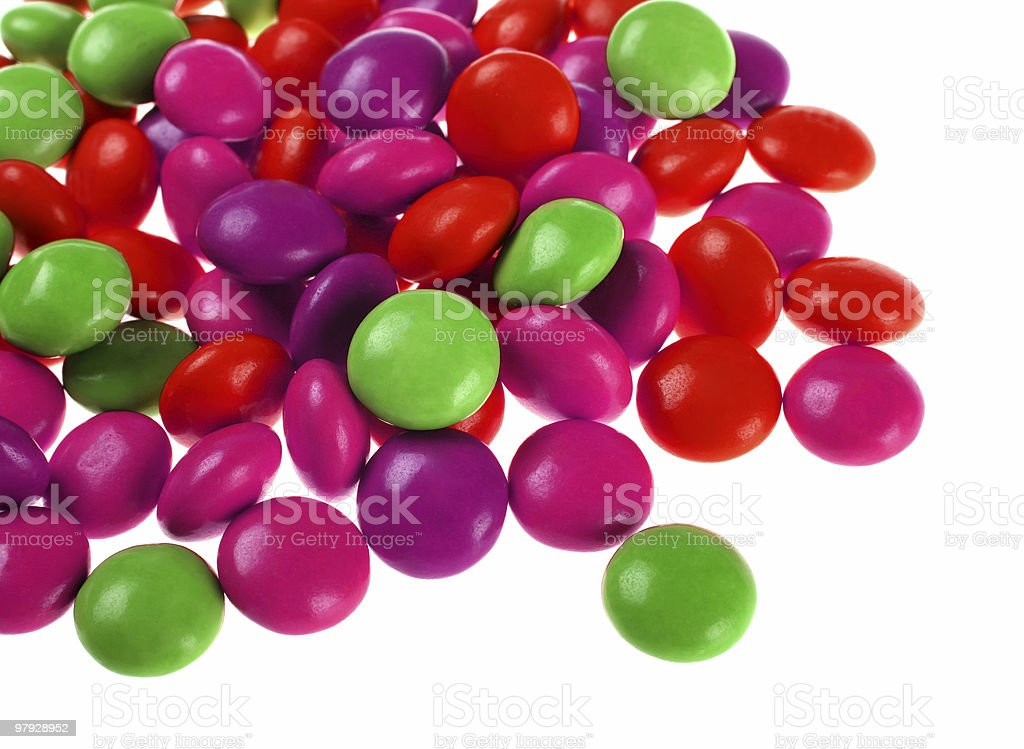 Color candy royalty-free stock photo