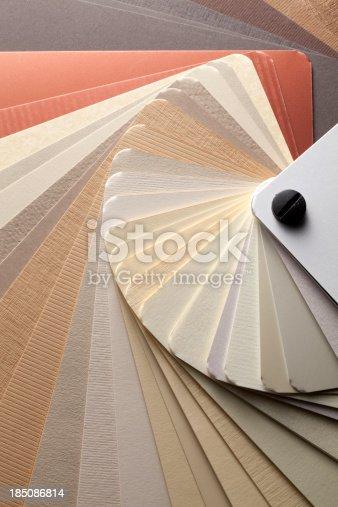 istock Color card. Warm tones. 185086814