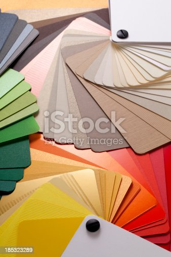istock Color cards 185323289
