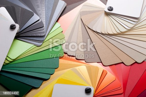 istock Color cards 185324432