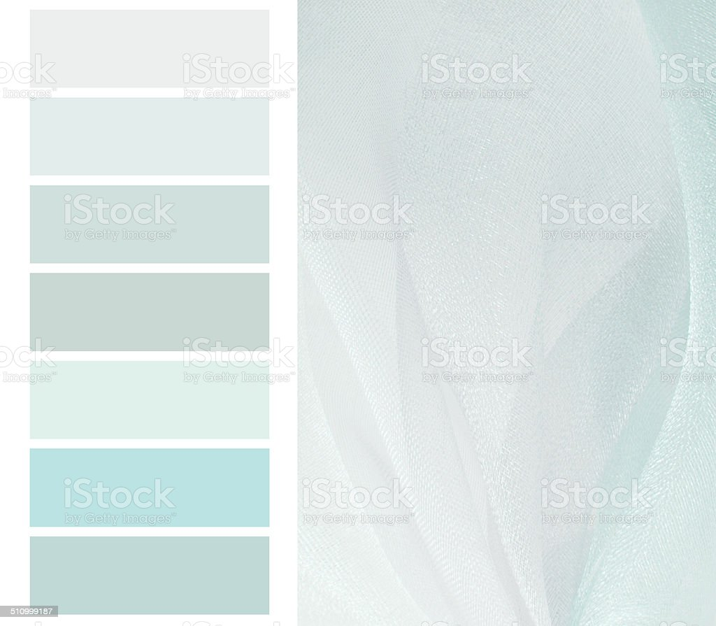 color chart selection stock photo