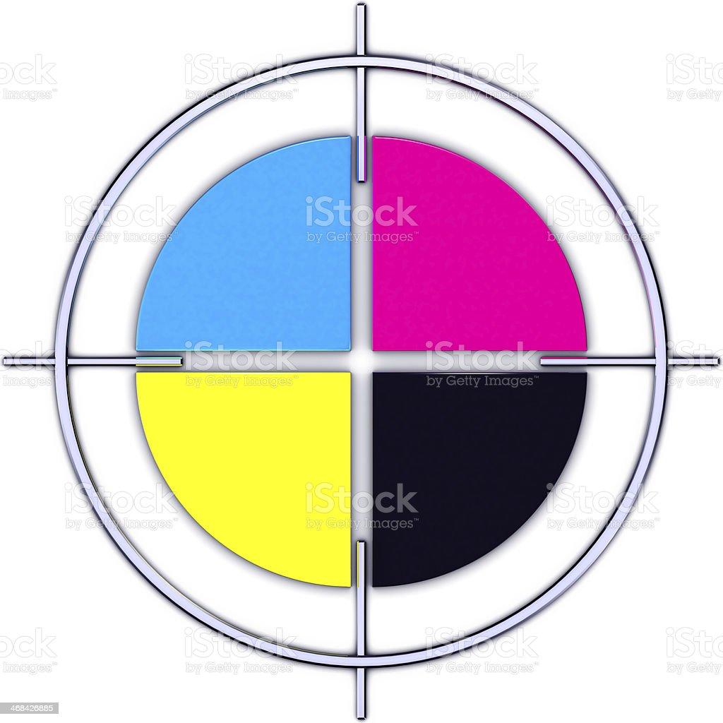 color circle royalty-free stock photo