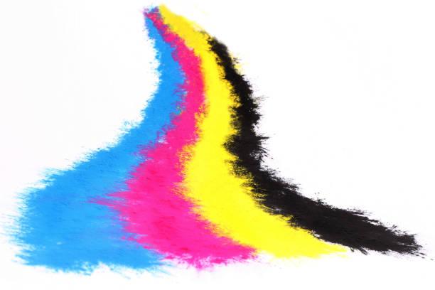 Farbe Kopierer-toner – Foto
