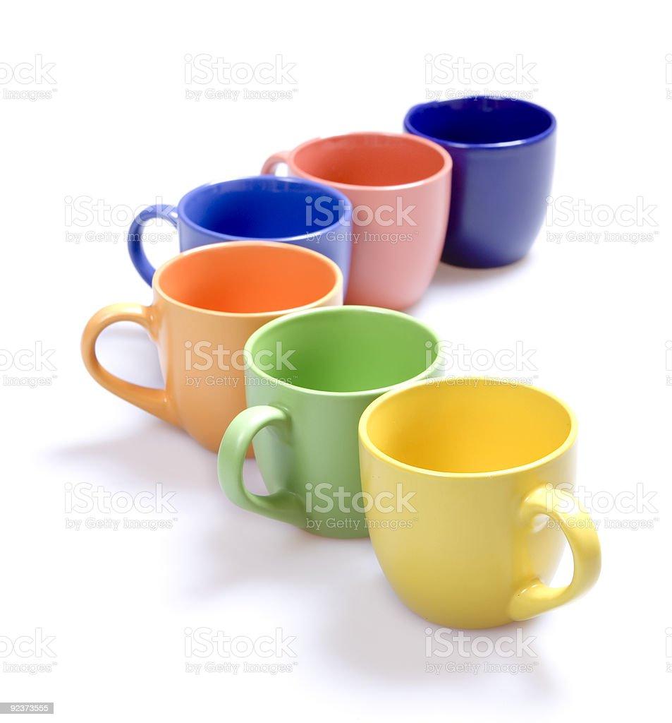 Recipientes de Color - foto de stock