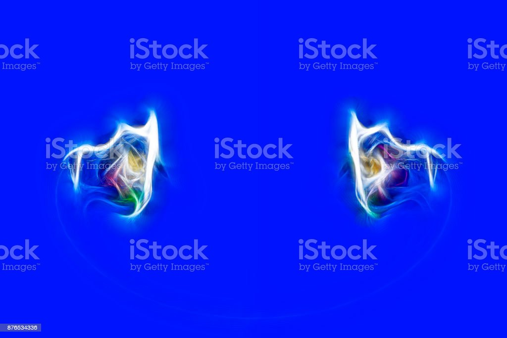 Color design pattern, computer generated images, closeup of photo stock photo
