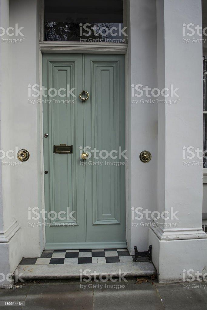 color door royalty-free stock photo