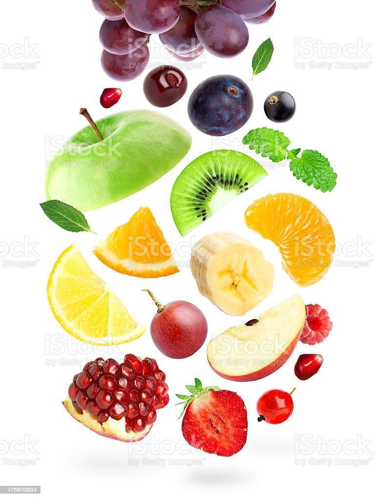 Farbe Obst und Beeren – Foto