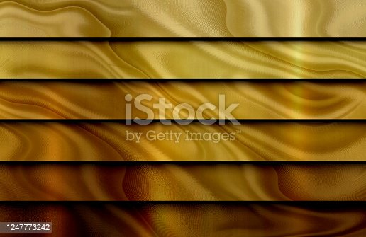 Color gradient waves silk background.