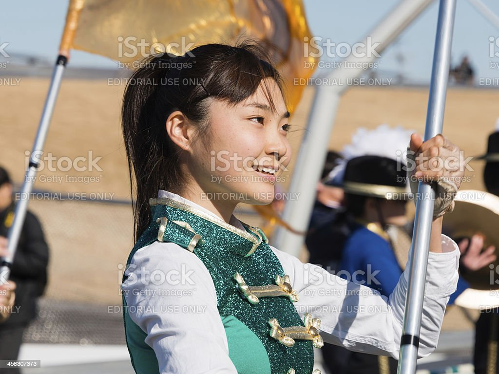 Color guard royalty-free stock photo