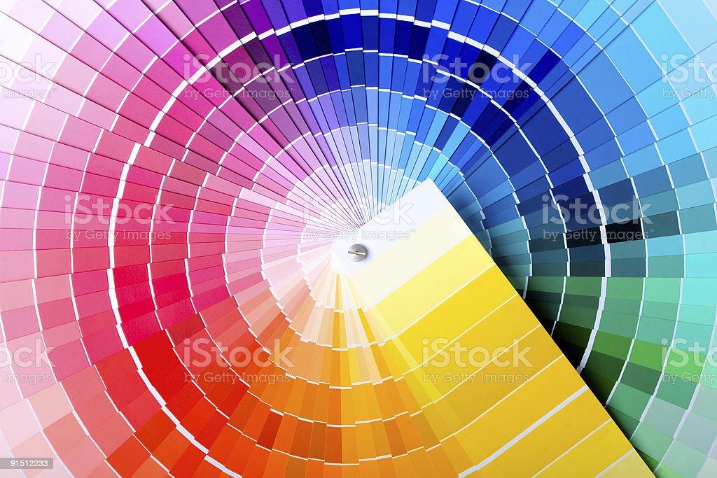 Guide des couleurs - Photo de Art pictural libre de droits
