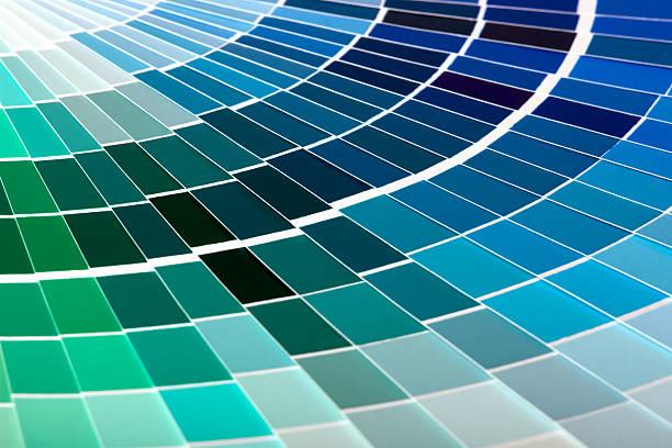 Color Guide stock photo