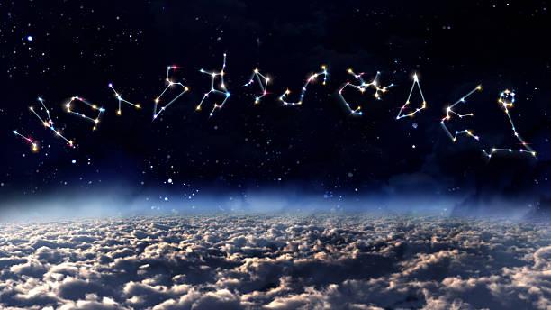 color horoscopes space - boğa hayvan stok fotoğraflar ve resimler