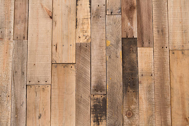 Color Image Of Pallet Wood Floor Stock Photo