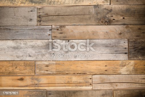 istock Color Image of Pallet Wood Wall 179757821